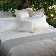 Frette linens in Cult. $1995 for a california king bed like mine. ultimate luxury, non?