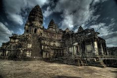 Ancient Khmer Temples Of Ankor Wat, Siem Reap, Cambodia