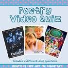 This powerpoint is colorful and assesses poetry and figurative language knowledge using poetry scenes from popular movies, followed by a question about the poem given.