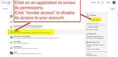 How to Review and Manage 3rd Party Apps Using Your Google Account
