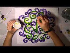 Mandala - acrylic painting (1) - Mandala - farby akrylowe
