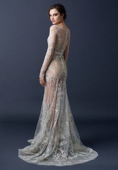 If you're a big fan of lace embellishments, see-through chiffon and sleek lines, you'll adore this range. South Australian prodigy, Paolo Sebastian has created the most angelic and creative couture collection for Summer 2015.