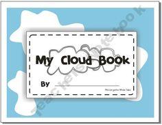 Mrs.W Shop - types-of-clouds-book | Teachers Notebook
