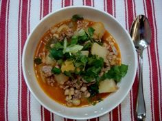 Wheat-free, dairy-free, sugar-free, red meat-free White Chili Recipe