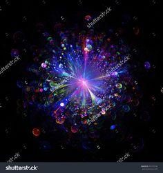 Fractal    Big Bang  Background - Fractal Art