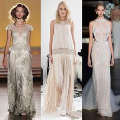 Aufgepasst, liebe Bräute! Hier kommen die aktuellen Brautkleider Trends 2016 >>