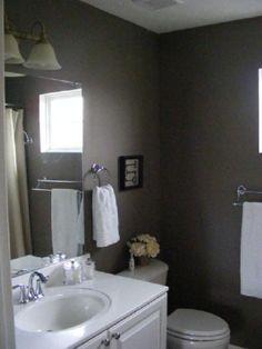 benjamin moore sparrow bathroom dark gray