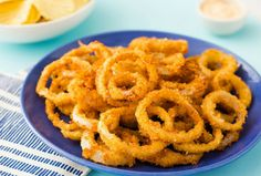 Ranch Onion Rings are crispy crunchy and SO easy to make for game day.