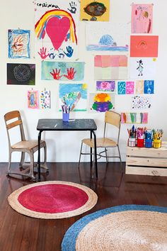 Children's room - Round rug - Via Deco Peques