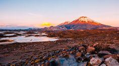 Volcán Parinacota #aricayparinacota #Chile
