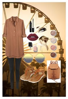 """Farris wheel influence ❤️"" by katiethehorse ❤ liked on Polyvore featuring Topshop, United by Blue, Matthew Williamson, Terre Mère, Lime Crime, Chanel and Marc Jacobs"
