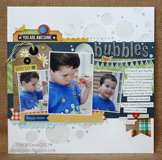 Blowing Bubbles. Layout by pattim