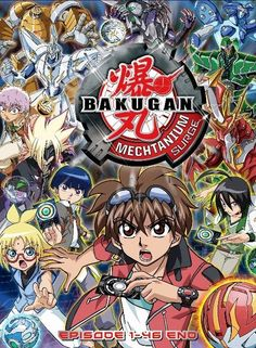 DVD ANIME BAKUGAN BATTLE BRAWLERS Season 4 Bakugan Mechtanium Surge Vol.1-46End / English Audio / Region All / Free Shipping