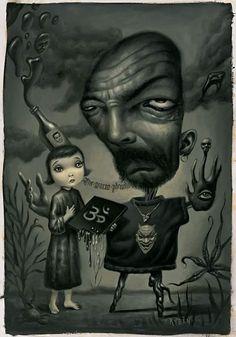 """Uncle Black"" by Mark Ryden"