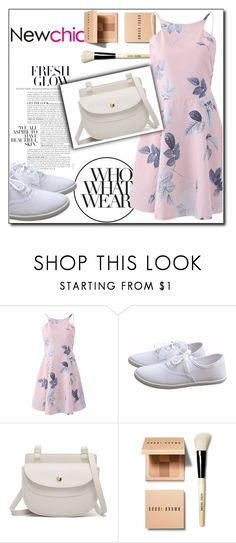"""""""NEWCHIC//4"""" by tamarasimic ❤ liked on Polyvore featuring Bobbi Brown Cosmetics and Who What Wear"""