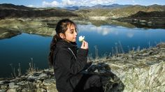 Cyprus, Kalavasos, Lake, Girl, Romantic
