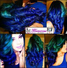 My new hair colors <3 #Splat