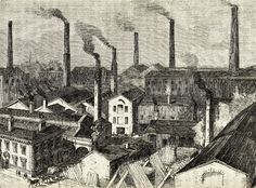 The works of Messrs Fairbairn and Sons, Manchester, 1860