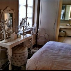 Bedroom and makeup table
