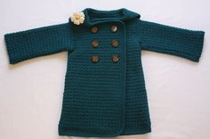 Pea Coat by Anji Beane. Based on this AB pattern: http://www.ravelry.com/patterns/library/pea-coat-sweater