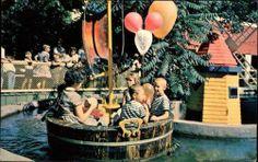 Kiddie Land Rub a Dub Tub ride at Elitch Gardens