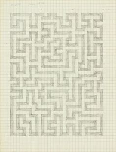 "The Josef & Anni Albers Foundation - Anni Albers ""Drawing from a notebook"", 1970"