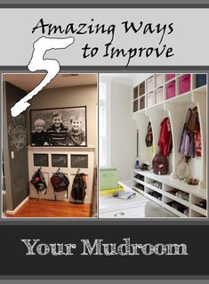 5 Amazing Ways to Improve Your Mudroom