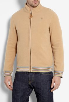 Camel Arctic Fleecy Jacket by Folk  #PackforParadise Enter Here: http://budurl.com/PackforParadise