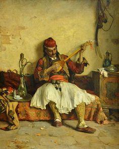 From the Balkan, c. 1890, Paja Jovanovic