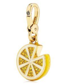 Juicy Couture Lemon Charm :) (a favourite VIP fashion au repin of www.vipfashionaustralia.com )