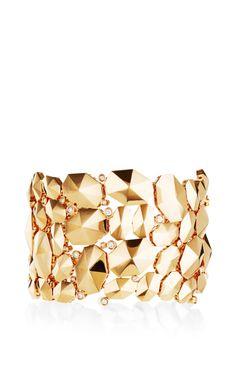 18K Rose Gold Dome Bracelet by Octium for Preorder on Moda Operandi