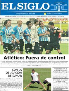 Diario El Siglo - Domingo 7 de Octubre de 20 12