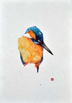 Artist Uses Calligraphy Brushes to Create Breathtaking Watercolor Paintings of…