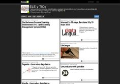 """ELE y TRICs """"Aplicaciones, herramientas, metodologías y cualquier tema de interés para la enseñanza y el aprendizaje del español como lengua extranjera en entornos digitales."""""""