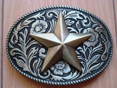 Western Star Gold Belt Buckles can be made into medalions for a space traveler treasure.