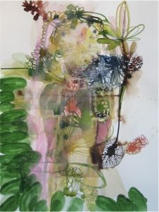 Elizabeth Terhune Selected Works on Paper ink and watercolor and gouache on paper