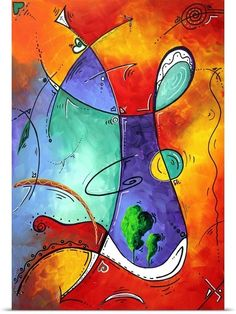 Free At Last - Bold Colorful Abstract Art
