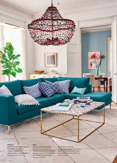Low-Hanging Pendants - Every Trend You Need to Know from Anthropologie's New Spring Collection - Photos