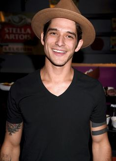 Tyler Posey backstage at the People's Choice Awards 2017 at Microsoft Theater on January 18, 2017 in Los Angeles, California.