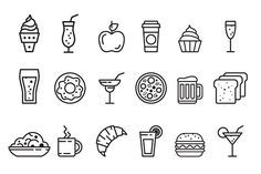 Food icon set by TopVectors on @creativemarket