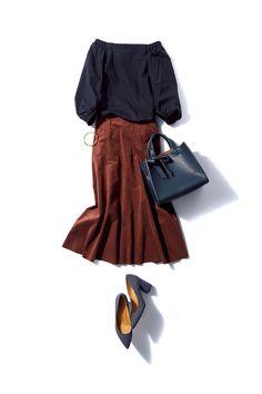 大流行警報!「ブラウン」がこんなに色っぽいなんて!-@BAILA ワタシを惹きつける。モノがうごく。リアルにひびく。BAILA公式サイト|HAPPY PLUS(ハピプラ)集英社 Daily Fashion, Everyday Fashion, Love Fashion, Autumn Fashion, Womens Fashion, Fashion Design, Punk Fashion, Lolita Fashion, Simple Outfits