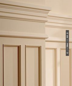Awesome - Wainscot | CHECK OUT MORE CROWN MOLDING AND DIY CROWN MOLDING IDEAS AT…