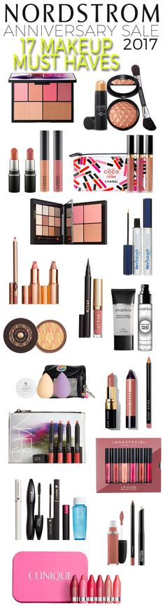 Nordstrom Anniversary Sale 2017: 17 Makeup Must Haves  via Beautiful Makeup search....This is an overview so not all pictured above are cruelty free but this gives you just some of the gorgeous sets available at amazing value! I recommend the Charlotte Tilbury Lip sets and sculpting/blush palette that includes a brush! The stila liner/lipstick duo is a must have for only $20...and there is an Hourglass palette that is beautiful!