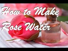 Learn step by step how to properly make pure rose water (which is not by boiling the petals). This easy method creates a pure and clean rose water suitable f. Rose Oil For Skin, Oils For Skin, How To Make Rose, How To Make Homemade, Making Rose Water, Homemade Rose Water, Roses Valentines Day, Homemade Essential Oils, Organic Roses