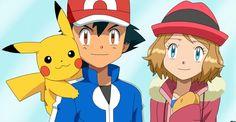 Ash and Serena!!!!