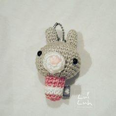 Irgendwie hat es mir das Kawaii Crochet angetan   #crochet #handmade #amigurumi #amigurumis #keychain #bagcharm #bunny #pink #wolle #wool #yarnlove #yarn #häkeln #häkelnisttoll #kawaii #kawaiicrochet  #kawaiioftheday by luiluh.handmade