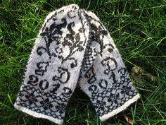 Ravelry: Venkes Selbu mittens - Handspun
