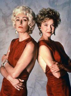 "Anjelica Houston y Annette Bening en ""The Grifters"", 1990"