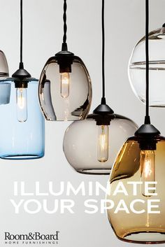 Illuminate your living space with modern lighting solutions like pendants, table lamps, floor lamps and more.