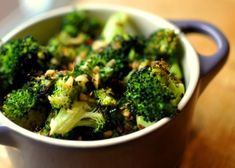 Spicy, Garlicy, Roasted Broccoli